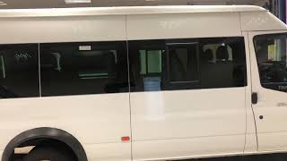 Ford Transit 17 seat walkaround