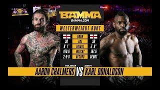 BAMMA 33: Aaron Chalmers vs Karl Donaldson