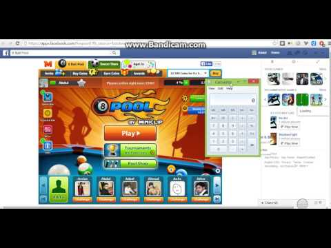 Hack 8 ball pool coins in 3 min
