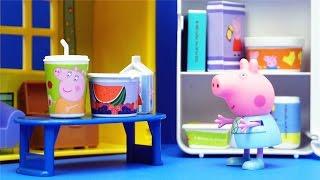 小猪佩奇 迷你厨具玩具 粉红猪小妹 迪士尼 小猪一家亲