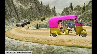 Mountain Auto Tuk Tuk Rickshaw : New Games 2019 screenshot 5