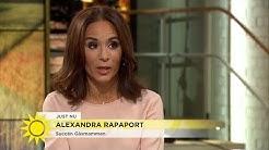 """Alexandra Rapaport: """"Jag var tvungen att ta för mig själv"""" - Nyhetsmorgon (TV4)"""