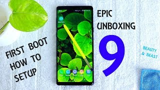 Samsung Galaxy Note 9 Unboxing & First Time Setup | Dual 12MP F1.5/F2.4 Beauty and Beast