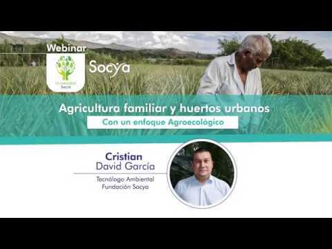 Webinar - Agricultura familiar y huertos urbanos