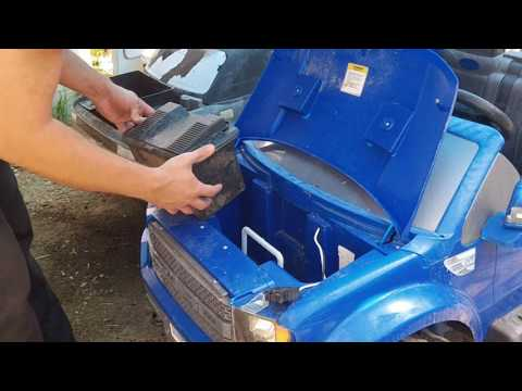 Thumbnail: Power Wheels Lawn Tractor Battery