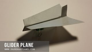 How To Make A Paper Airplane - Avión De Papel | Glider