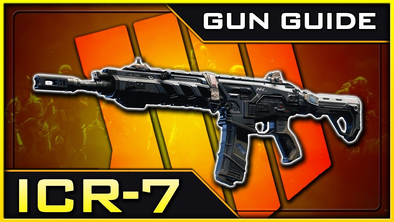 Best ICR-7 attachments and class setups to use in Black Ops