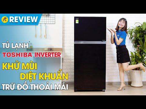Tủ lạnh Toshiba Inverter 359 lít: tiết kiệm điện, làm lạnh kép (GR-AG41VPDZ XK1) • Điện máy XANH