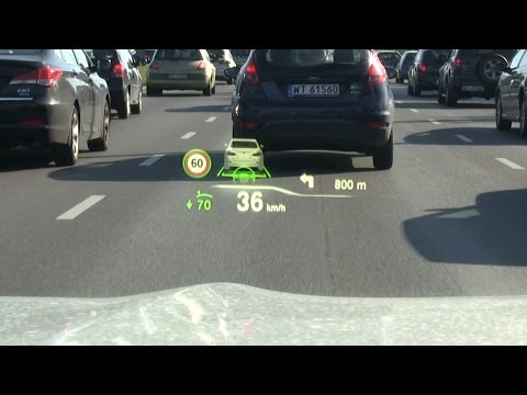 Short shot: BMW Head-up Display (HUD)
