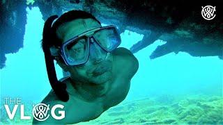 Wreck Diving And Swimming 220ft Deep With No Air Tank - Christian Wedoy & Davide Dameno Freediving