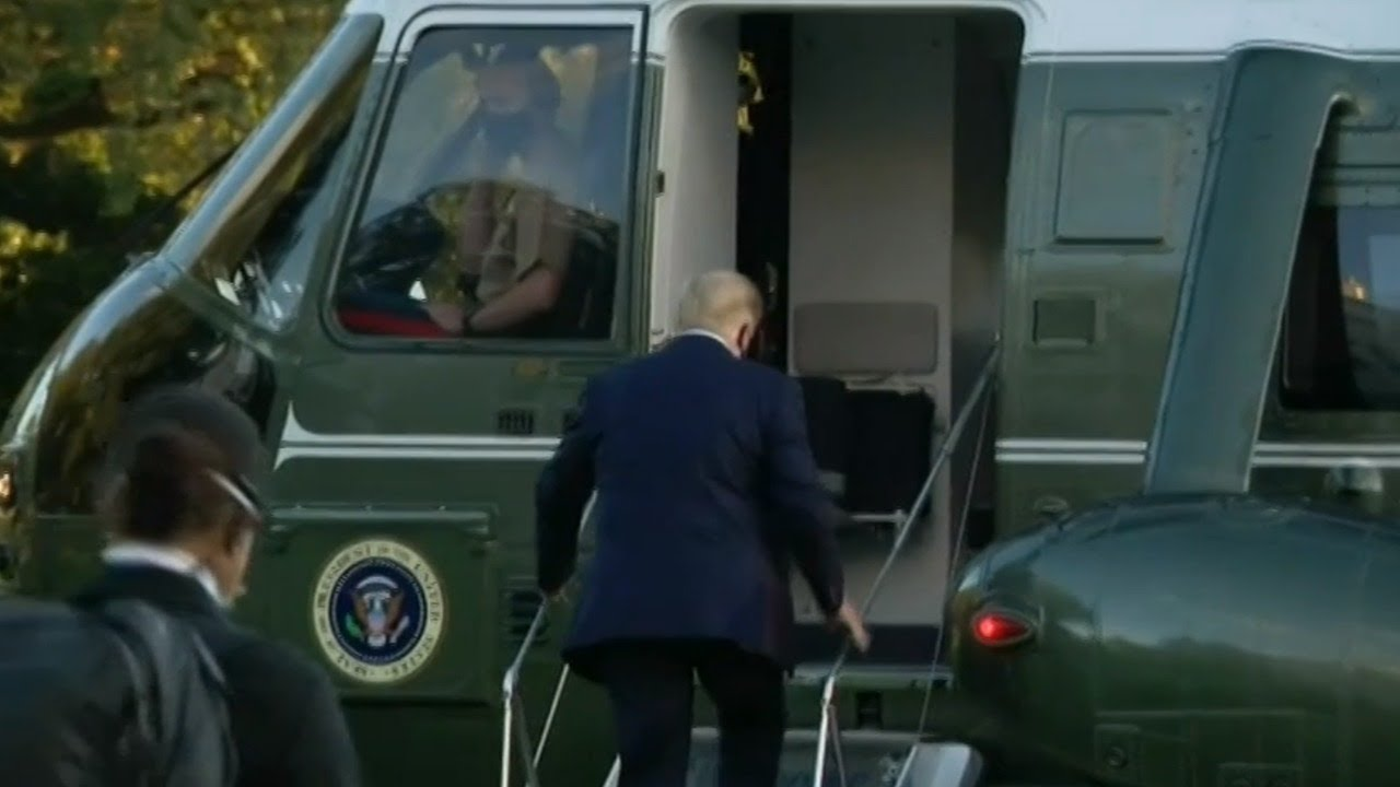'I will never forget it': Trump gives thanks for 'tremendous support' as he goes to hospital