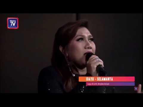 Idayu AF Megastar - Selamanya (Single Version) LIVE Harian Metro Cuit Sikit