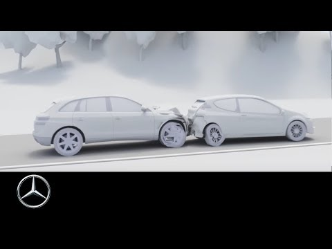 Mercedes-Benz S-Class 2017: Car-to-X Communication