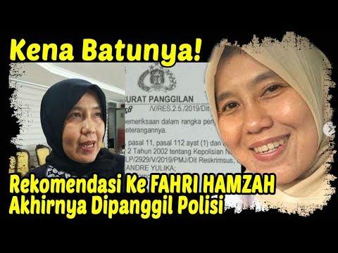 Kena Batunya! Si Kampret Betina Tulen, Dr Ani Hasibuan Dipanggil Polisi Atas Dugaan Ujaran Kebencian