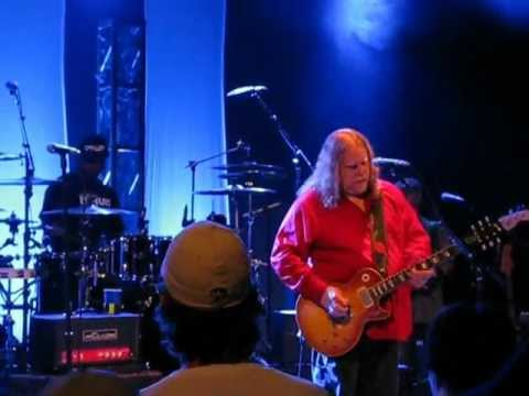 Warren Haynes Soulshine/Tupelo Honey Carnegie Library Music Hall, Homestead, Pa. 10-11-11