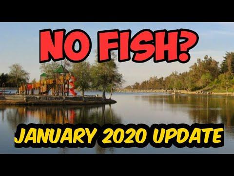 Yucaipa Regional Park | Fishing Update | 2020