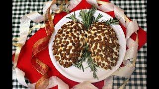 Новогодний салат «Шишка»