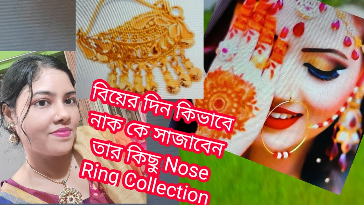 Nose Ring Pin Collection For Bridal Without Piercing Nose Ring