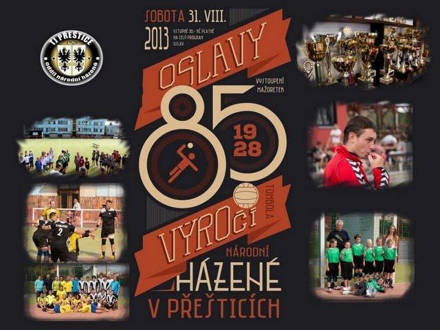 85. výročí Národní házené Přeštice