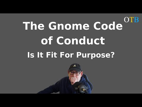 Is the Gnome Code of Conduct Fit For Purpose?