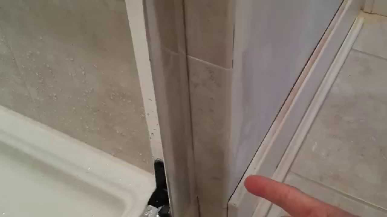 Finding a shower leak (or any leak behind a wall or ceiling) - YouTube