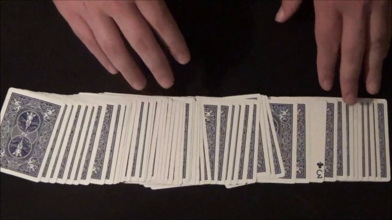 very simple beginners card trick revealed  youtube