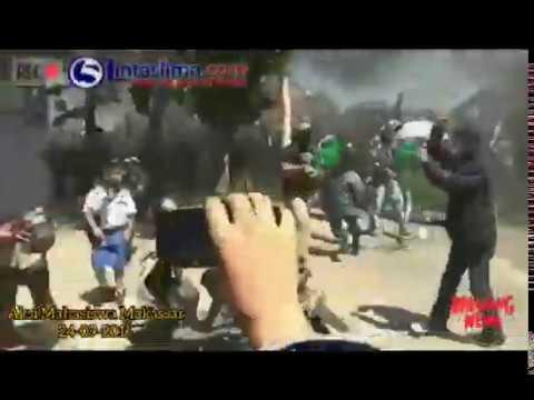 Aksi demo mahasiswa makassar 24/09/2019