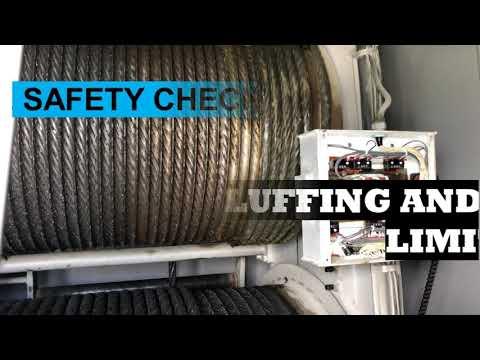 Deck Crane Maintenance Part 1 - Safety Check ( Electrical Part )