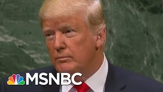 Donald Trump On North Korea: Rockets 'No Longer Flying In Every Direction' | Hallie Jackson | MSNBC