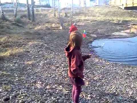 Ida-Frida vid dammen