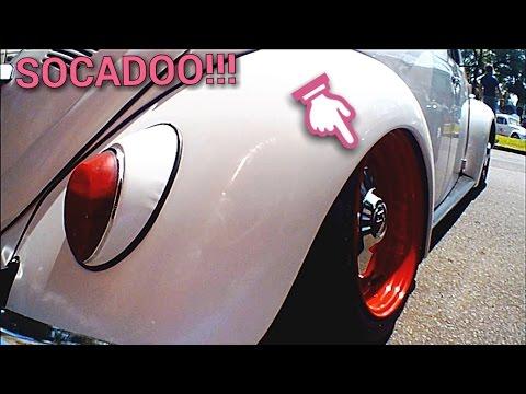 Fusca Branco Rebaixado!!!17 ENCONTRO DE FUSCAS PORTAO RS