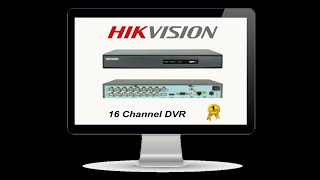 Best dvr/ Hikvision 16 channel dvr unboxing..