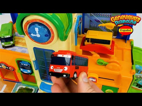 Aprende los Colores - Video Educativo para Niños con Tayo the Little Bus!