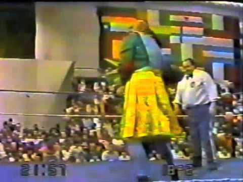 Titanes en el Ring 1983 - (026) Gengis Kan vs David El Pastor Videos De Viajes