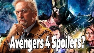 Michael Douglas Spoils Avengers 4 AND The Future of the MCU?