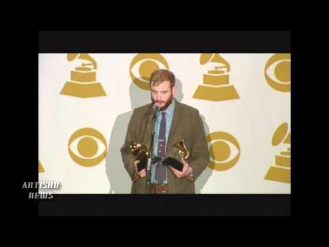 BON IVER WINS GRAMMY FOR BEST NEW ARTIST AND BEST ALTERNATIVE MUSIC PERFORMANCE