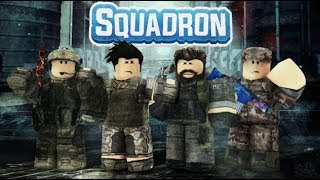 Dungeon Quest but with guns; Roblox Squadron grinding