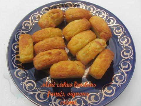 recette-de-mini-cakes-lardons,-crème,-oignon