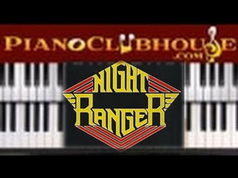 🎹  SISTER CHRISTIAN - Night Ranger (easy piano tutorial lesson)