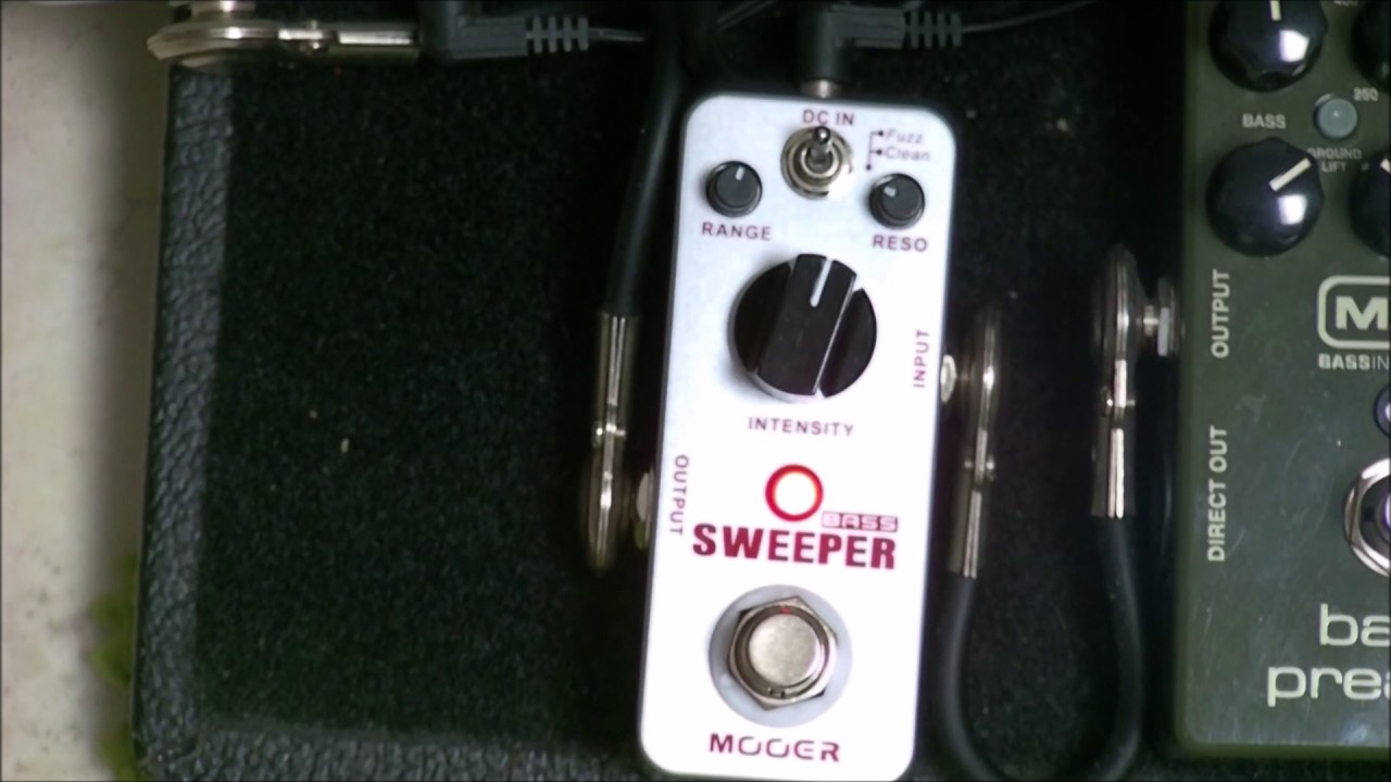 Mooer Bass Sweeper - Demo