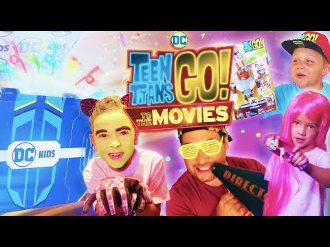 DC KIDS SECRET BOX CHALLENGE! Teen Titans Go! To The Movies | Episode 2 | DC Kids