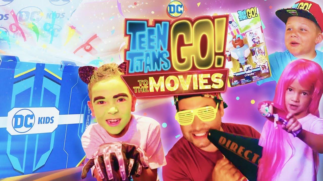 DC KIDS SECRET BOX CHALLENGE! | Teen Titans Go! To The Movies | DC Kids