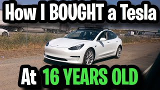 How I Bought A Tesla at 16 Years Old Without any Financial Support! (+ My YouTube Analytics/Revenue)
