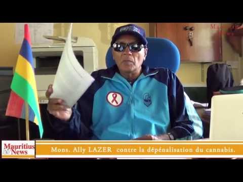 Mauritius News: interview of Ally Lazer on decriminalization of cannabis