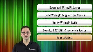 Home Automation Tutorial: Setup WiringPi and 433Utils