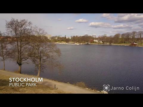 DJI MAVIC PRO 4K - STOCKHOLM PUBLIC PARK - Djurgårdsbrunnsviken