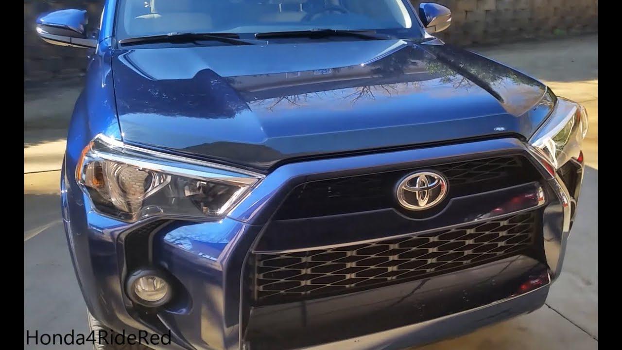 2016 Toyota 4runner Avs Aero Skin Installation