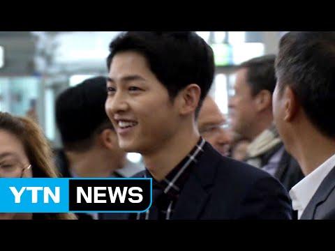 Korean actor Song Joong-Ki makes record Chinese TV show rating / YTN (Yes! Top News)