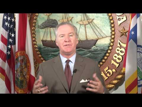 Mayor Bob Buckhorn - Tampa Bay Trade and Protocol Council