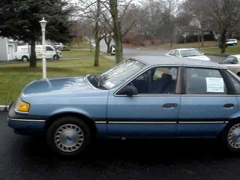 1989 Ford Tempo GL, 89k Original Miles, Rare 5 Speed  - SOLD